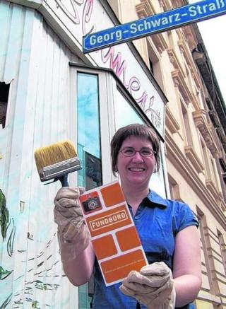 Bildinhalt: Erster Wächterladen in der Georg-Schwarz-/Erich-Köhn-Straße | Foto: Linda Dietze