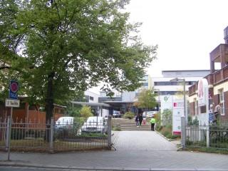 Gesundheitsforum - Termin verlegt auf den 29. 10. 2013 | Diakonissenkrankenhaus in der Georg-Schwarz-Straße / Foto: Enrico Engelhardt