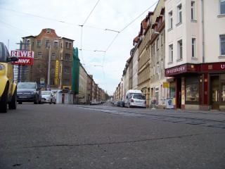 Straßengestaltung: Amt informiert über Georg-Schwarz-Straße  | Die Neugestaltung bezieht sich auf den Leutzscher Teil der GSS / Foto: Enrico Engelhardt