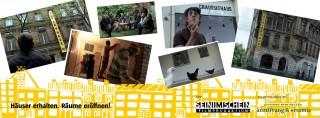 Filmpremiere - Häuser erhalten. Räume eröffnen! am 15. 02. 2014 | Filmplakat zu