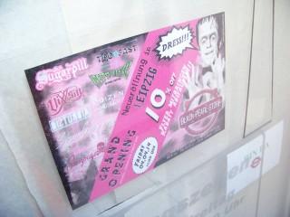 Black-Pearl-Store eröffnet am 04. April in der Georg-Schwarz-Straße 2 | Morgen wird mehr als das Ankündigungsschild am und im Laden zu finden sein / Foto: Enrico Engelhardt