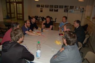 Ideensammlung beim 4. Forum Georg-Schwarz-Straße | In Arbeitsgruppen wurden beim Forum Ideen für die GSS entwickelt / Foto: Enrico Engelhardt