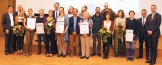 Leipziger Agenda-Preis in fünf Kategorien vergeben | Leipziger Agenda-Preis 2014 - Die Preisträger / Foto: Dieter Gruner