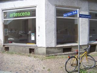 Künstlergespräch in der Galerie artescena, am 19. 06. 2014 | In der Galerie artescena wird am Donnerstag über Kunst gesprochen / Foto: Enrico Engelhardt