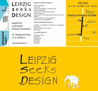 Designers' Open in der Georg-Schwarz-Straße | LEIPZIG seeks DESIGN / Bild: Agnieszka Robak