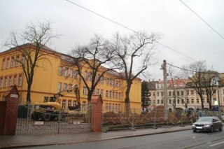 Umbauarbeiten an der 57. Oberschule  haben begonnen | Foto: Roman Grabolle