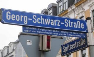 Straßennamen rund um die Georg-Schwarz-Straße |