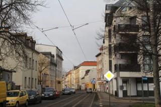 Vorschlag zur Errichtung einer weiteren Haltestelle zwischen Diakonissenhaus und Rathaus Leutzsch |