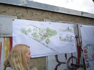 Informationsveranstaltung zur neuen öffentlichen Grünfläche an der Pufendorfstr. |