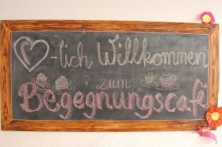 Bildinhalt: Begegnungscafé in der Georg-Schwarz-Str. 31 am 27. Mai |
