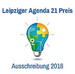 Ausschreibung Leipziger Agenda-Preis 2016 |