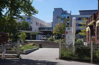 Stand des Bauvorhabens Hubschrauberlandeplatz auf Diakonissenkrankenhaus | Diakonissenkrankenhaus / Foto: S.Ruccius