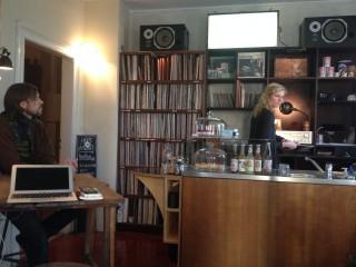 S1 Vinyl & Kaffee-  neues Café auf der Georg-Schwarz-Straße | im