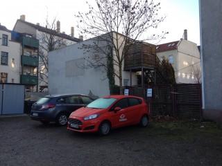 Neue teilAuto-Station in Lindenau | teilAuto Stadtion Ferlemannstraße/ Foto: S.Ruccius