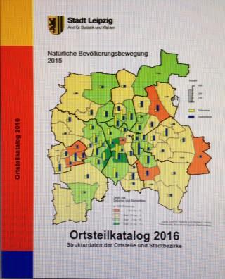 Bildinhalt: Ortsteilblatt 2016 der Stadt Leipzig erschienen | Ortsteilblatt 2016
