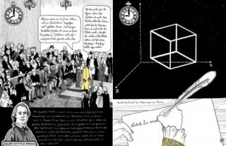 Bildinhalt: Kant-Graphic-Novel-Lesung im Atelier georg schwarz |