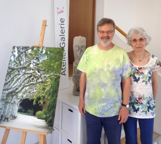 Das AtelierGalerieV. | Felizitas und Hans Christian Viering
