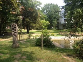 Bildinhalt: Historische Parkanlage des Diakonissenhauses erstrahlt in neuem altem Glanz |