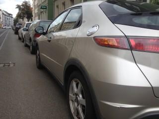 Bildinhalt: Mobilität und Parkraumeinsparung | tagsüber ruhender Verkehr in Leutzsch