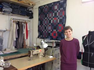 Bildinhalt: Nähkurse in Leutzsch | Daniela Witt in ihrem Atelier