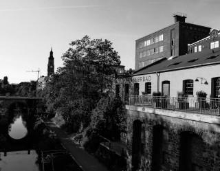 Bildinhalt: Ausstellung im Diako -Fotografien in und um Leipzig- | Simone Karras, Kaiserbad