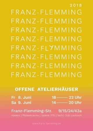 Bildinhalt: _FRANZ-FLEMMING OFFENE ATELIERHÄUSER _ |