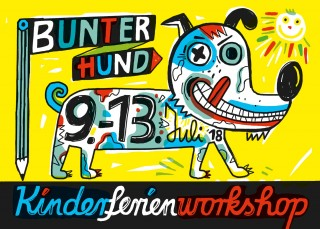 Bildinhalt: Kinderferienworkshop BUNTER HUND |