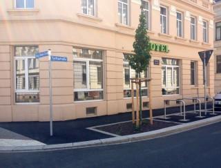 Bildinhalt: Weitere sechs Einmündungsbereiche in die Georg-Schwarz-Straße werden umgebaut |