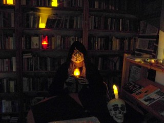 Bildinhalt: Halloween im Bürgerverein Leutzsch  