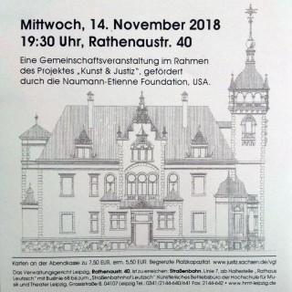 Bildinhalt: Konzert im Leutzscher Verwaltungsgericht  