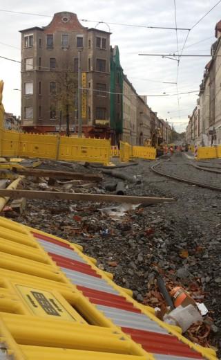 Bildinhalt: Georg-Schwarz-Straße – Straßensperrung ab 16. November |