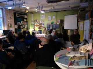 westwärts- Lesung zur Buchmesse | Foto: Café kaputt