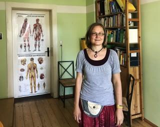 Zeit in Räumen- neues Angebot in Leutzsch | Susanne Mareck in ihrem Gesundheitsraum