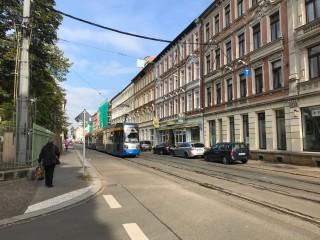 Vollsperrung der Georg-Schwarz-Straße | Straße vor der Uhlandschule