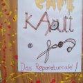 Kids sprühen bei Workshop im Café | Das Café Kaputt lädt zum Workshop ein / Foto: Enrico Engelhardt