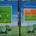 Programm des Leutzscher Kunstrasen e. V. und Karten im Stadtteilladen Leutzsch erhältlich | Ankündigungen für den Leutzscher Kunstrasen / Foto: Enrico Engelhardt