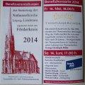 Thomaner singen in Lindenau für Kirchensanierung | Ankündigungsflyer für das Kirchenkonzert / Foto: Enrico Engelhardt