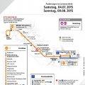 Schienenersatzverkehr auf der Linie 7 am Sonntag, den 9. August |