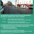Zwei neue Plätze an den Leutzsch-Arkaden - Bürgerwerkstatt am 6.10. |