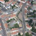 Bürger_inneninformation zum Verkehrskonzept Altlindenau am 3. März 2016 | Luftbild vom Lindenauer Markt. Bildrechte: Stadtverwaltung Leipzig
