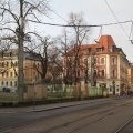 Vorschlag zur Verlegung und Verbreiterung der Haltestelle Wielandstraße der Linie 7 |