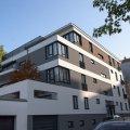Zwei neue Mehrfamilienhäuser in der Nachbarschaft der Magistrale | Bild: Ecobau GmbH