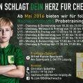 Trainingsschnupperstunde bei BSG Chemie? | Markus Schumann