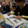 Mal- und Zeichenzirkel in Leutzsch | Inge und Horst, Foto S. Ruccius
