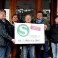 Stadtteilinitiativen fordern 15-Minuten-Takt für S1 nach Grünau | S1 am Bahnhof Leutzsch