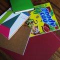 Buchbinderkurse im kunZstoffe e.V. | Bücher und Hefte mithilfe des Materials vom krimZkrams gebunden